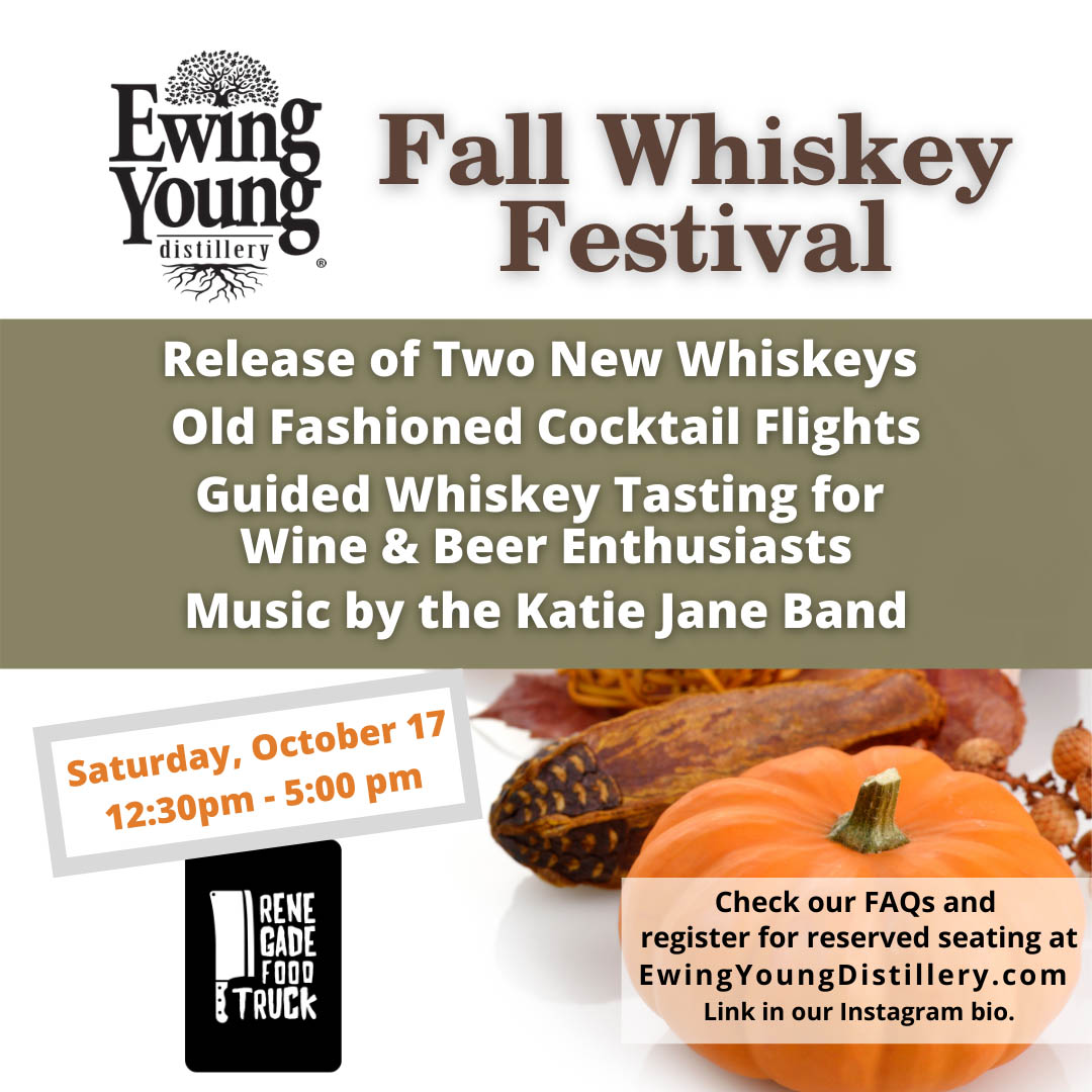 Ewing Young Distillery Fall Whiskey Festival