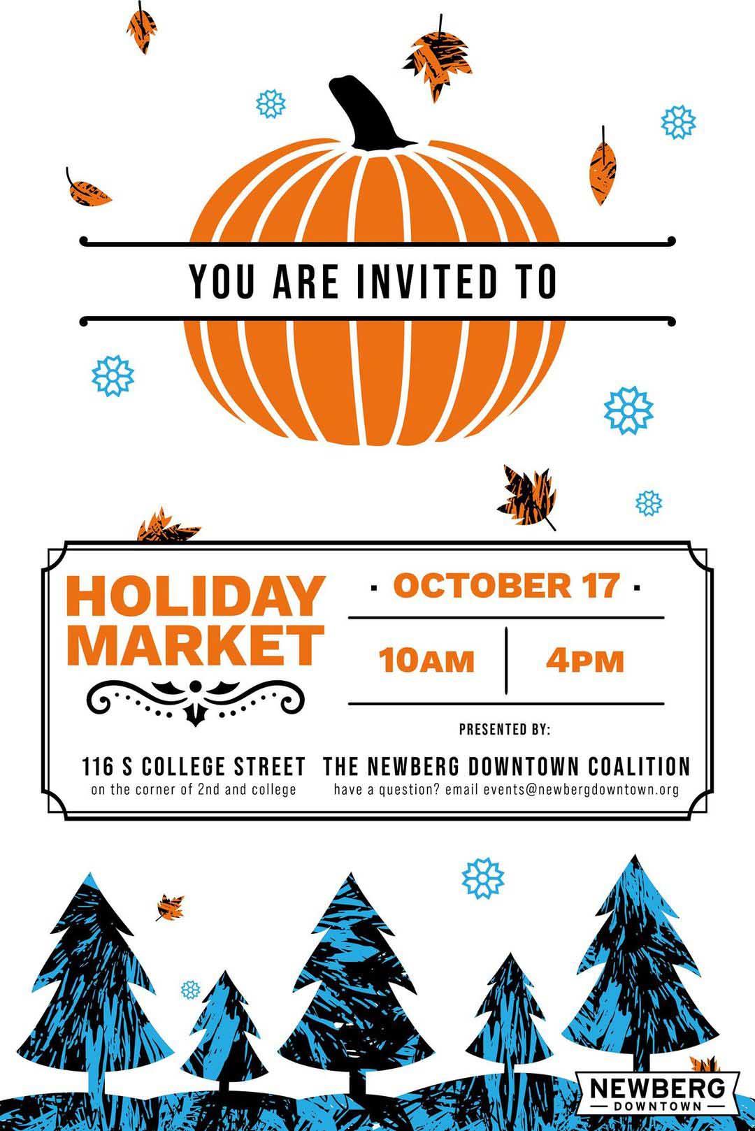 Newberg Holiday Market
